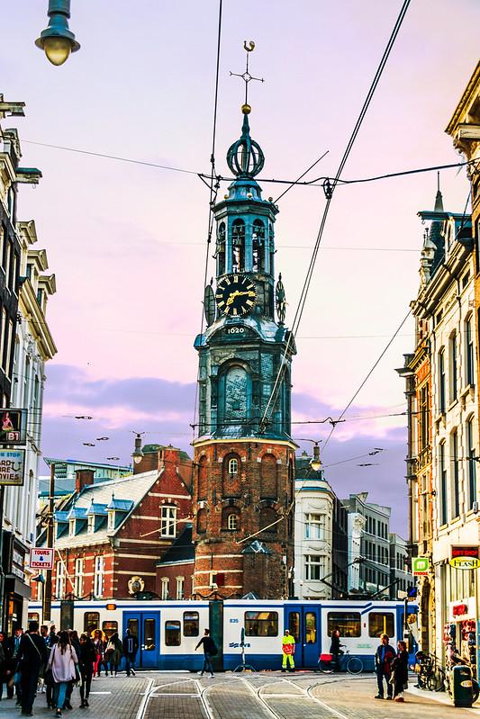 زندگی در هلند - مرکز شهر آمستردام