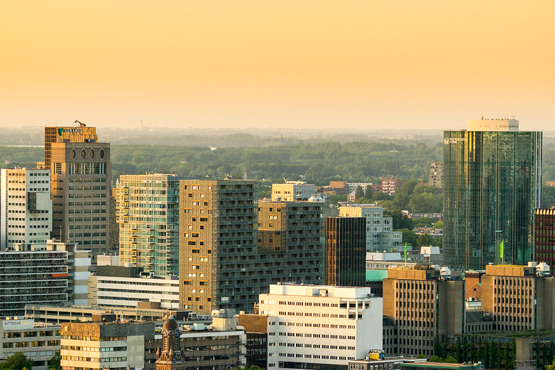 زندگی در هلند - نمایی از روتردام ۱